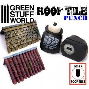 Miniature ROOF TILE Punch