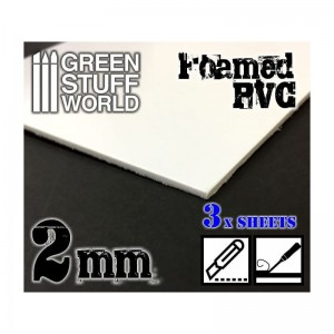 FOAMED PVC 2MM - 200X300MM