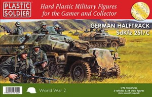 1/72nd Easy Assembly German Sdkfz 251/C Halftrack