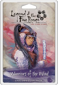 Warriors of the Wind Unicorn Clan Pack: L5R LCG