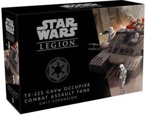 STAR WARS LEGION: OCCUPIER COMBAT ASSAULT TANK UNIT EXPANSION