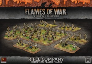 RIFLE COMPANY (150 FIGS PLASTIC)