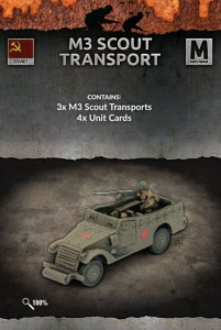 M3 SCOUT TRANSPORTS (x3)