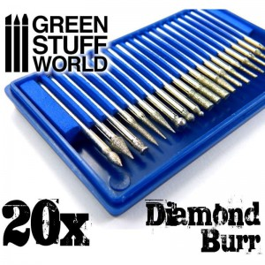 DIAMOND BUR SET - 20PCS
