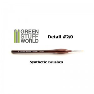 SYNTHETIC BRUSH 2/0 DETAIL