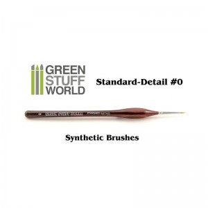 SYNTHETIC BRUSH 0 STANDARD FINE