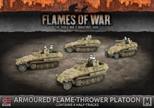 ARMOURED FLAME-THROWER PLATOON (x4)