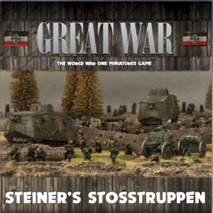 STEINER'S STOSSTRUPPEN (GERMAN ARMY DEAL)