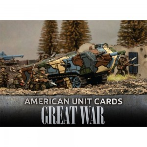GREAT WAR - AMERICAN UNIT CARDS