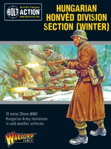 HUNGARIAN ARMY HONVED DIVISION SECTION (WINTER)