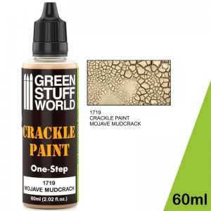 ACRYLIC CRACKLE PAINT - MOJAVE MUDCRACK 60ML