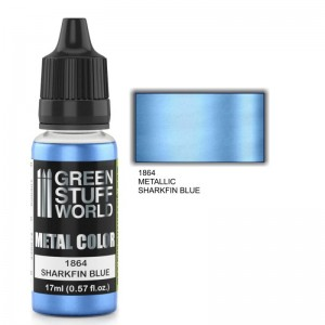 ACRYLIC METAL PAINT - SHARKFIN BLUE 17ML