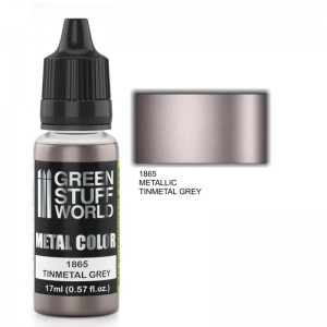 ACRYLIC METAL PAINT - TINMETAL GREY 17ML