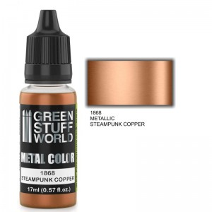 ACRYLIC METAL PAINT - STEAMPUNK COPPER 17ML