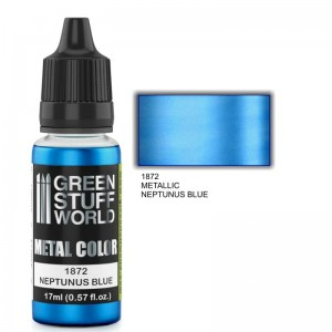 ACRYLIC METAL PAINT - NEPTUNUS BLUE 17ML