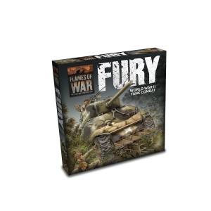 """FURY"" STARTER SET - FLAMES OF WAR (LW)"