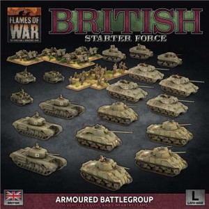 "BRITISH LW ""ARMOURED BATTLEGROUP"" ARMY DEAL"