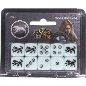 HOUSE STARK DICE: A SONG OF ICE AND FIRE EXP.