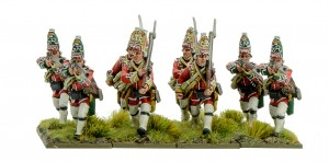 FRENCH INDIAN WAR: BRITISH GRENADIERS