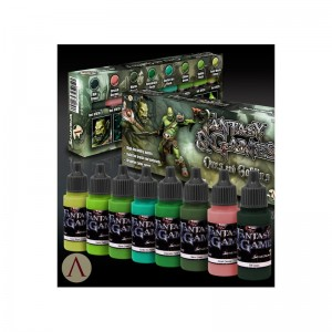 SCALE 75 PAINT SET - ORCS AND GOBLINS