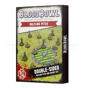 BLOOD BOWL: HALFLING TEAM PITCH & DUGOUTS [OOP]