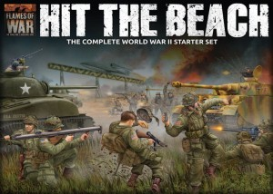 'HIT THE BEACH' ARMY SET - FLAMES OF WAR (LW)