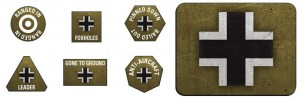 GERMAN LW TOKENS (X20) & OBJECTIVES (X2)