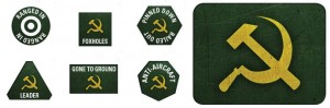 SOVIET LW TOKENS (X20) & OBJECTIVES (X2)
