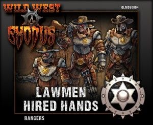 LAWMEN RANGER BOX (HIRED HANDS)