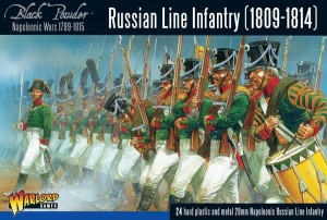 NAPOLEONIC RUSSIAN LINE INFANTRY (1809-1814)