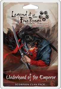 Underhand of the Emperor Scorpion Clan Pack: L5R LCG