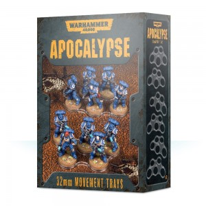 WH40K APOCALYPSE MOVEMENT TRAYS (32MM)