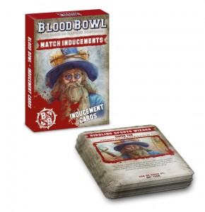 BLOOD BOWL: INDUCEMENTS CARDS (ENG) [OOP]