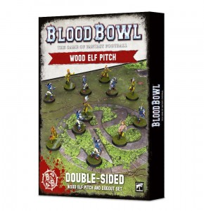 BLOOD BOWL: WOOD ELVES PITCH & DUGOUTS