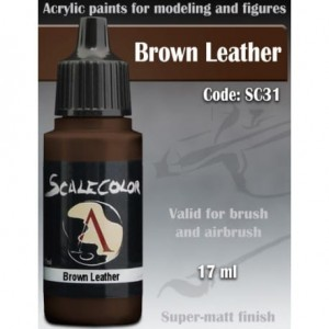 SCALE75 - BROWN LEATHER