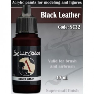 SCALE75 - BLACK LEATHER