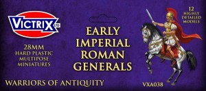 EARLY IMPERIAL ROMAN MOUNTED GENERALS (x12)