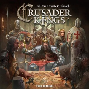 CRUSADER KINGS THE BOARD GAME - THE ROYAL BUNDLE