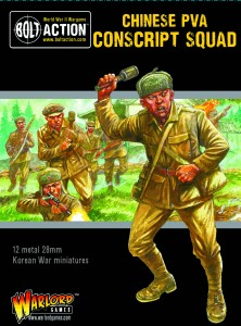 KOREAN WAR: CHINESE PVA CONSCRIPT SQUAD