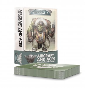 AERONAUTICA IMPERIALIS: AIRCRAFT & ACES: ORK AIR WAAAGH! CARDS [OOP]