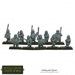 HALFLINGS WITH SPEARS