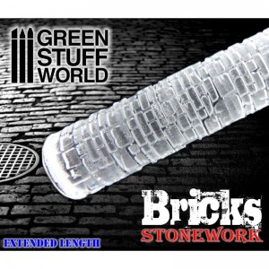 BRICKS ROLLING PIN