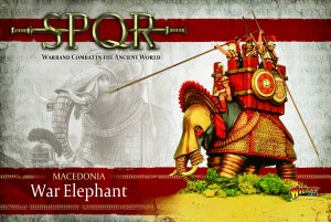 MACEDONIAN WAR ELEPHANT