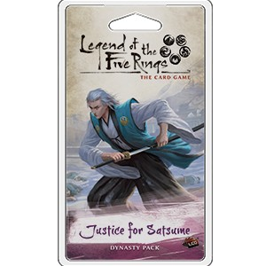 Justice for Satsume Dynasty Pack L5R LCG