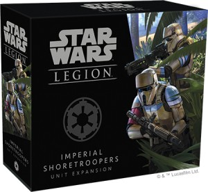 STAR WARS LEGION: SHORETROOPERS UNIT EXPANSION
