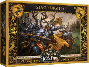 BARATHEON STAG KNIGHTS UNIT BOX: A SONG OF ICE AND FIRE EXP.