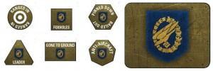FALLSCHIRMJAGER TOKENS (X20) & OBJECTIVES (X2)