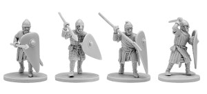 V&V NORMAN INFANTRY (4 models)