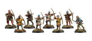 V&V VIKINGS #8 ARCHERS (8 models)