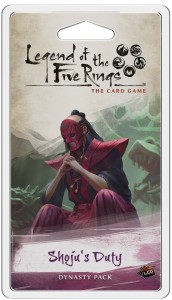 Shoju's Duty Dynasty Pack: L5R LCG